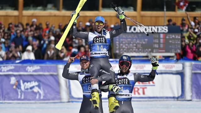 Trois Français aux trois premières places : ils sont géants !