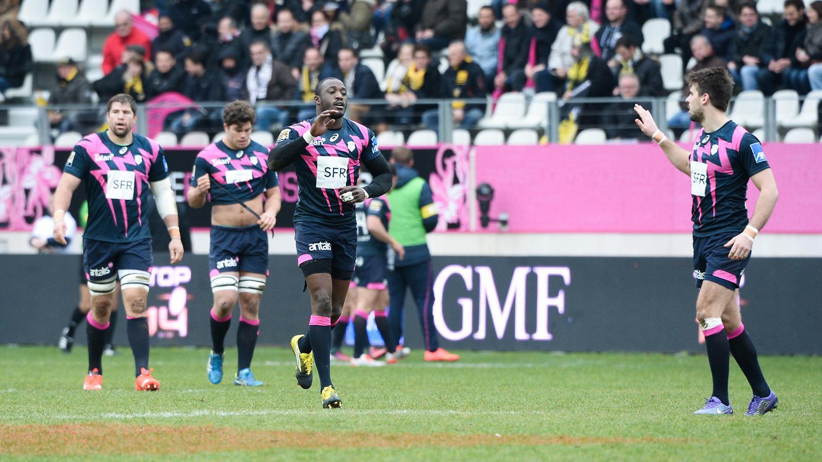 Djibril Camara et Hugo Bonneval (Stade français) - 19 mars 2016