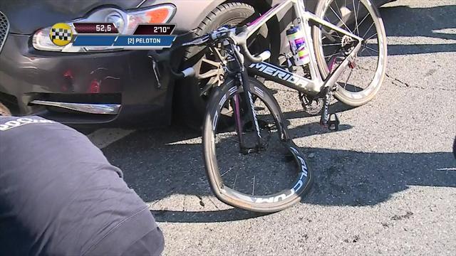 Zurlo takes nasty tumble at Milan-San Remo