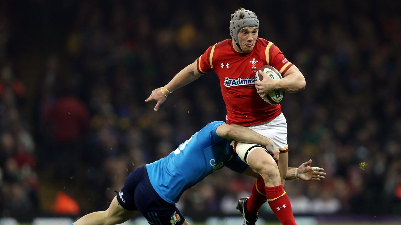 Jonathan Davies (pays de Galles) face à l'Italie - 19 mars 2016