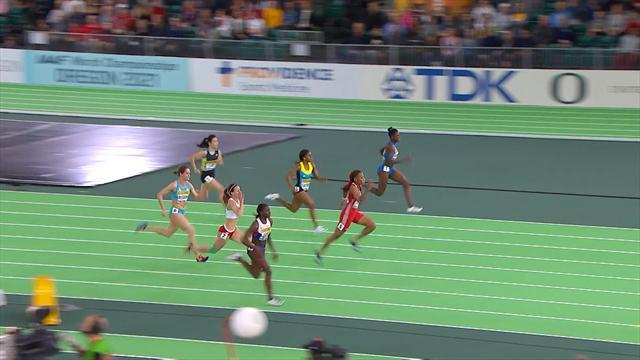Gloria Hooper: personal best nei 60 metri ai Mondiali di Portland