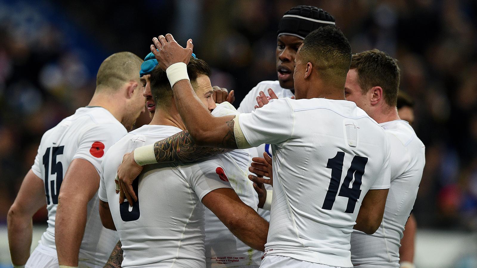 L'Angleterre s'est imposée à Paris contre la france (21-31) - 19 mars 2016