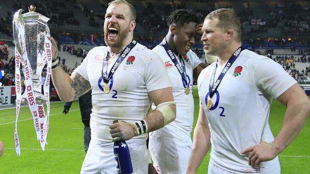 Jones thrilled with England after securing Grand Slam glory