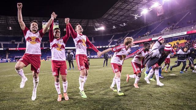 New York Red Bulls beat Dynamo to claim first win