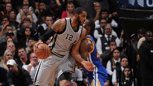 Aldridge et Diaw ont porté les Spurs : les temps forts en vidéo