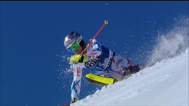 Lizeroux, l'eterno slalomista che emoziona il pubblico