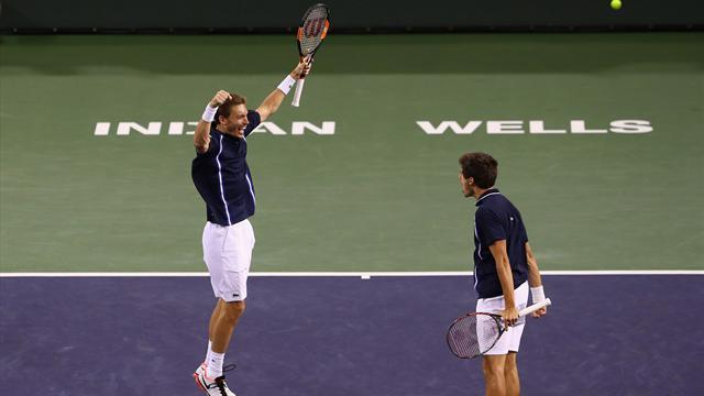 Herbert-Mahut, le duo maître d'Indian Wells
