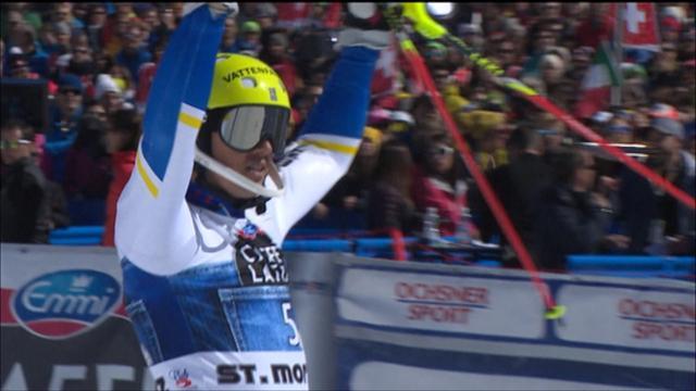 Myhrer si aggiudica l'ultimo slalom dell'anno