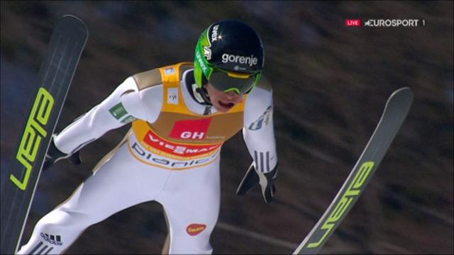 Peter Prevc finishes season with insane monster jump to win in Planica