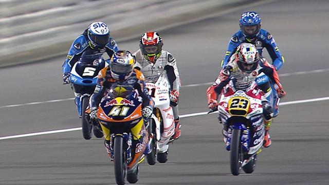 En Moto3, Antonelli a chipé la victoire à Binder sur la ligne !