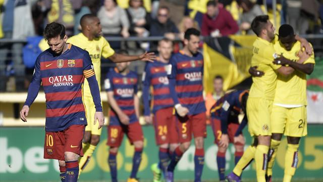 L'armada barcelonaise a été freinée par Villarreal et ce n'est pas loin d'être un exploit