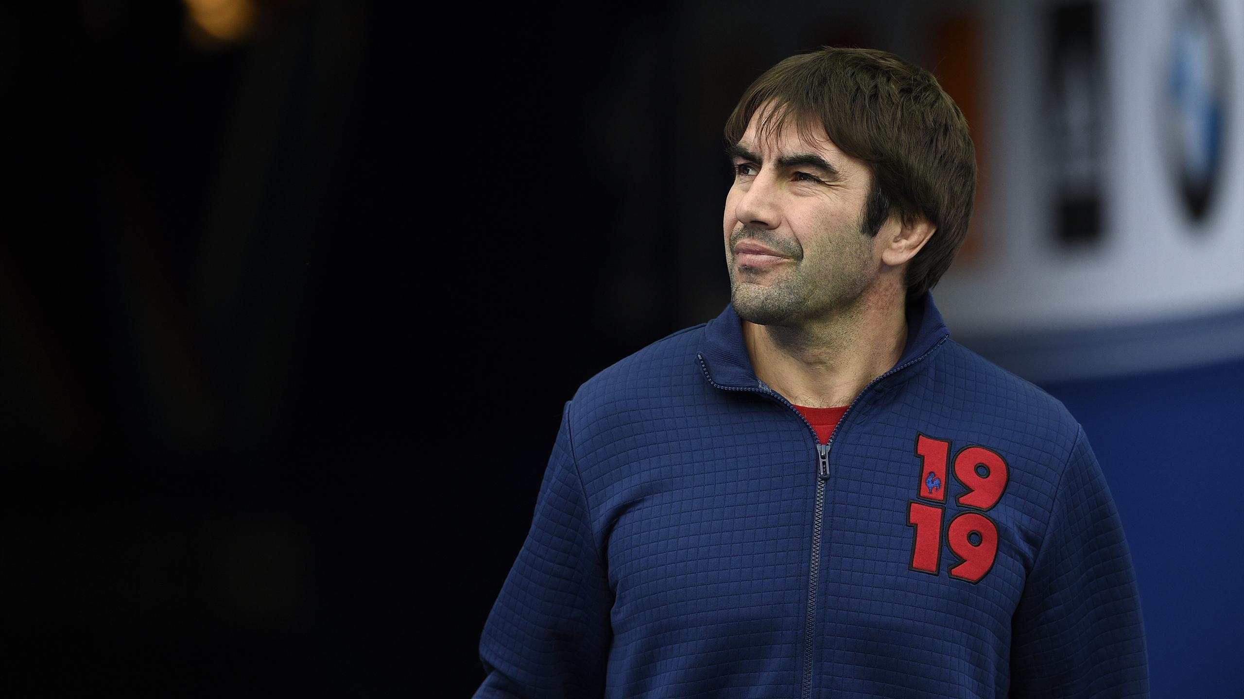 Jeff Dubois, entraîneur des trois-quarts du XV de France