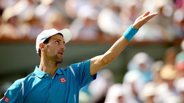 Toujours plus monstrueux, Djokovic a éparpillé Raonic