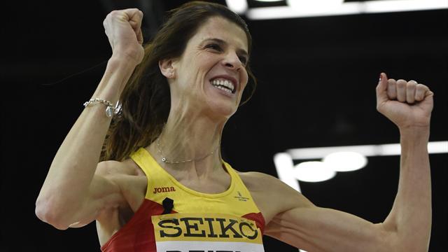 Europeos de Ámsterdam 2016: Ruth Beitia, medalla de oro por tercera vez consecutiva