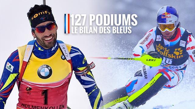 127 podiums, 5 globes pour Fourcade, un quadruplé pour Pinturault... Le bilan des Bleus