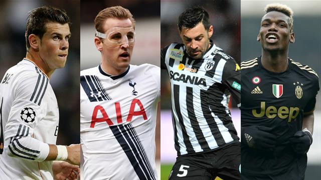 Avec leur doublé, Mangani et Kane s'invitent à la table de Bale et Pogba