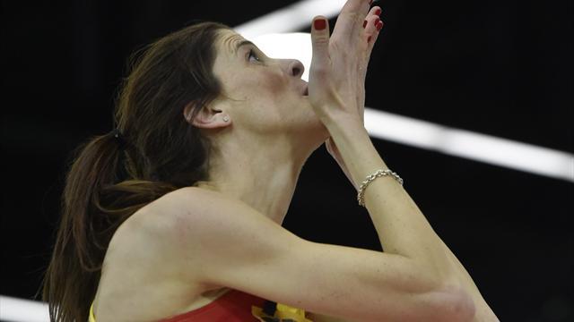 """Ruth Beitia ya dejó entrever en Eurosport su retirada: """"No era el final que había elegido"""""""
