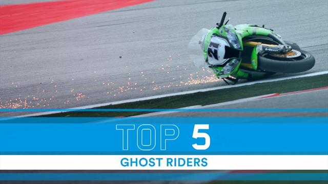 Top 5: Ghost riders