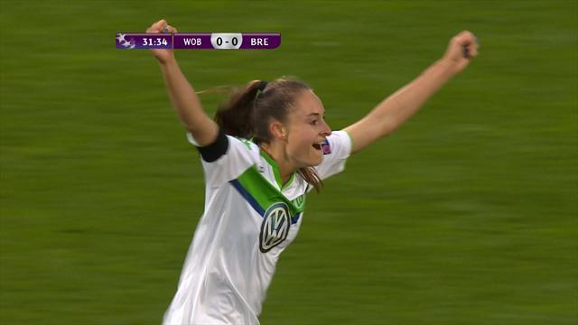 Wolfsburg aussi a pris une bonne option sur le dernier carré : le résumé en vidéo