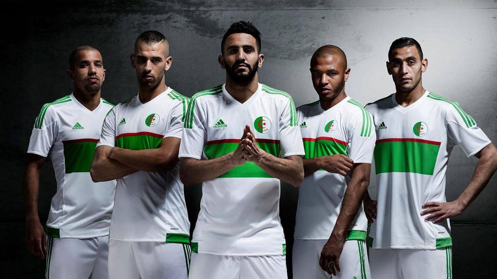 Les deux nouveaux maillots de l'Algérie officialisés par Adidas - Economie - Eurosport