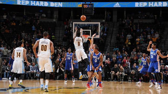 Le tir miraculeux de Mudiay, le reverse dunk surpuissant de LeBron : le Top 10 de la nuit