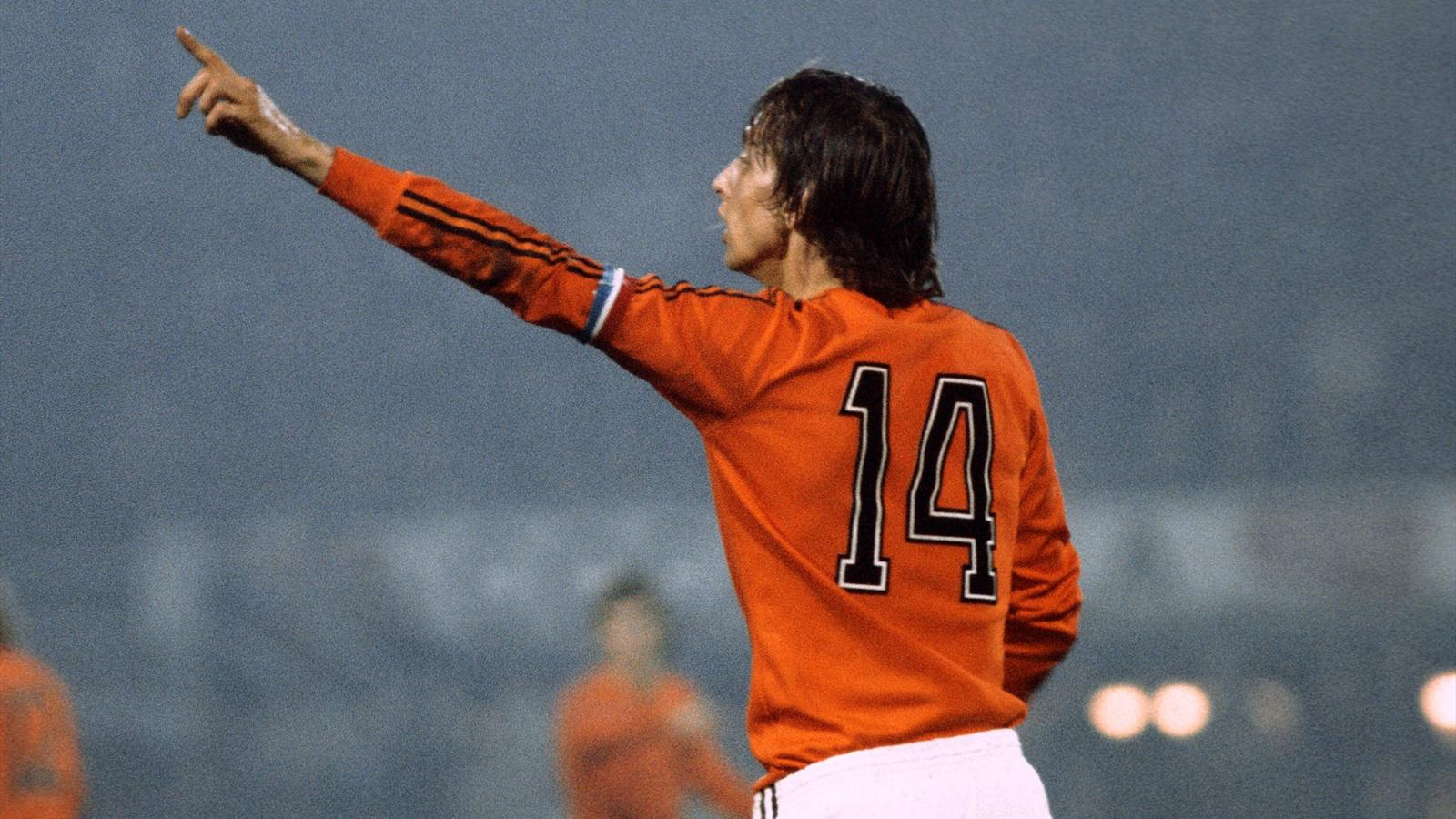 Netherlands to hold Cruyff tribute during France friendly - Football - Eurosport