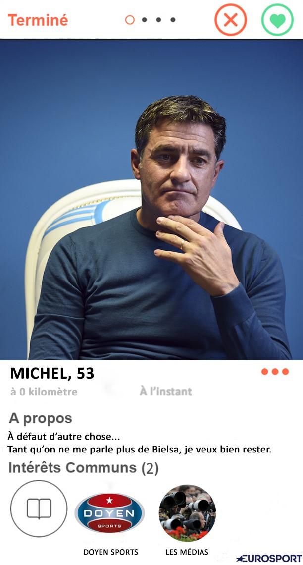 Tinder Foot : Michel à l'OM