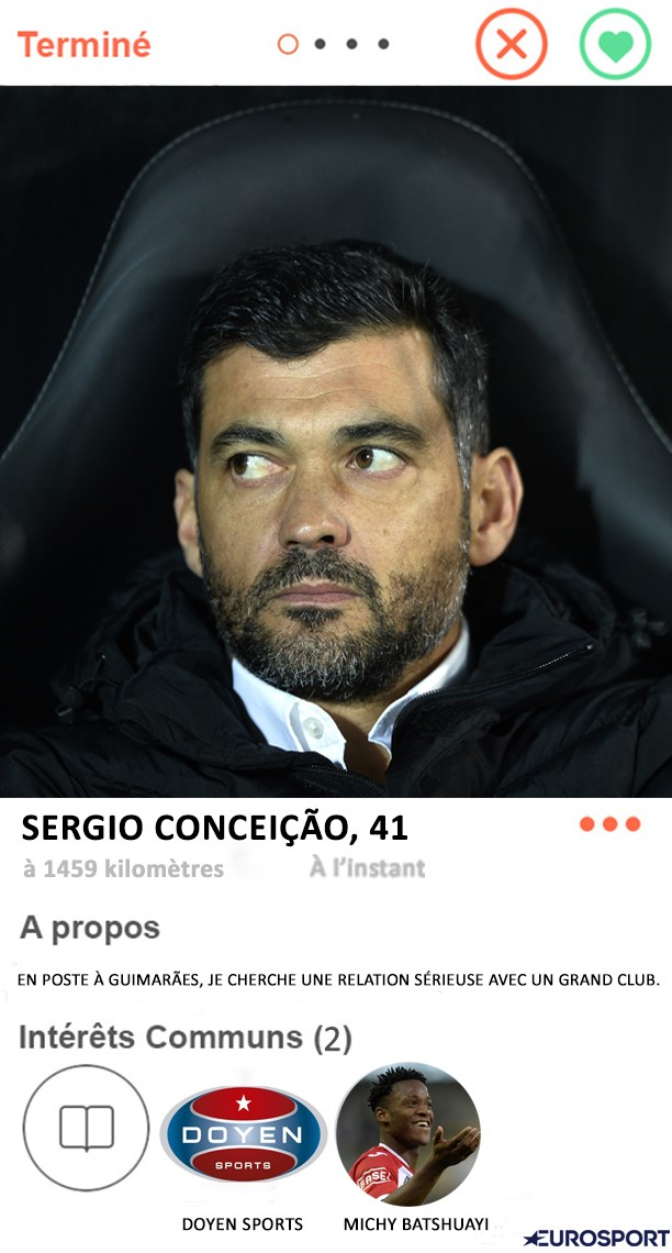 Tinder Foot : Sergio Conceicao à l'OM