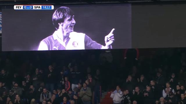 Avant Amsterdam, Rotterdam a rendu un vibrant hommage à Cruyff