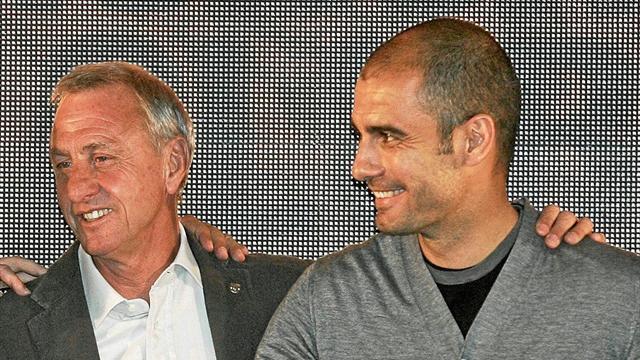 "Guardiola: ""Je ne savais rien du football avant de connaître Cruyff"""