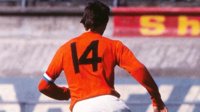 Johan Cruyff : 14 anecdotes étonnantes sur la carrière du légendaire numéro 14