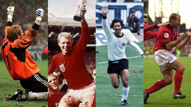 Le Top 10 des plus grands duels entre l'Allemagne et l'Angleterre