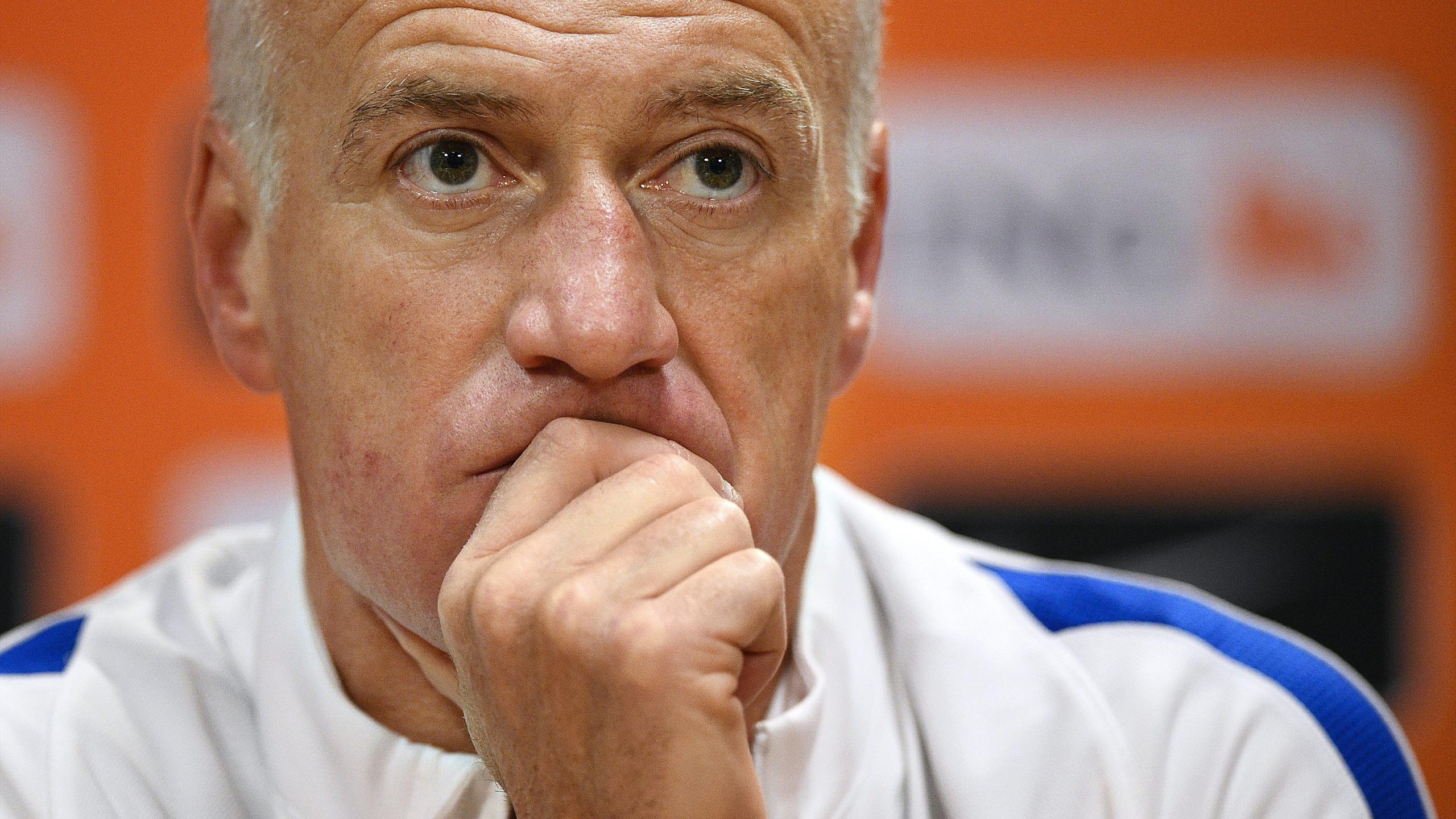 Didier Deschamps, sélectionneur de l'équipe de France - 2016