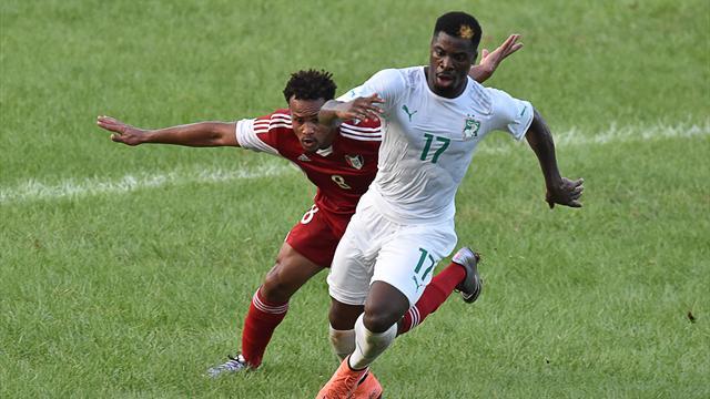 Aurier a rejoué avec la Côte d'Ivoire (ce qui fait le bonheur de Matuidi)
