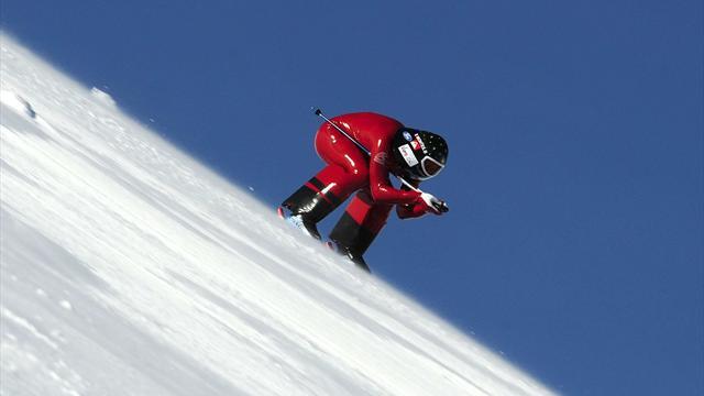 254 958 km h nouveau record du monde en ski de vitesse pour l 39 italien ivan origone ski. Black Bedroom Furniture Sets. Home Design Ideas