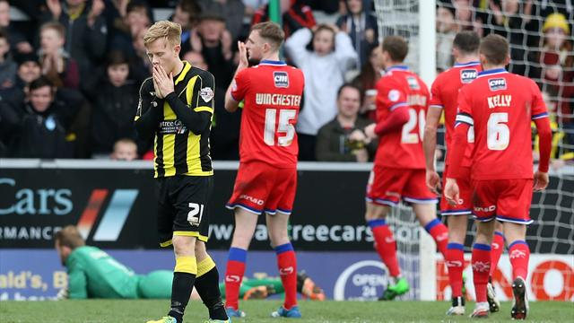 Burton extend lead to four points after Oldham draw