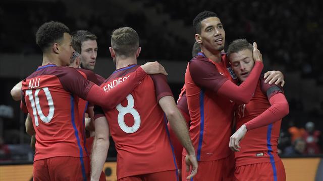 En une demi-heure, une formidable Angleterre a renversé l'Allemagne