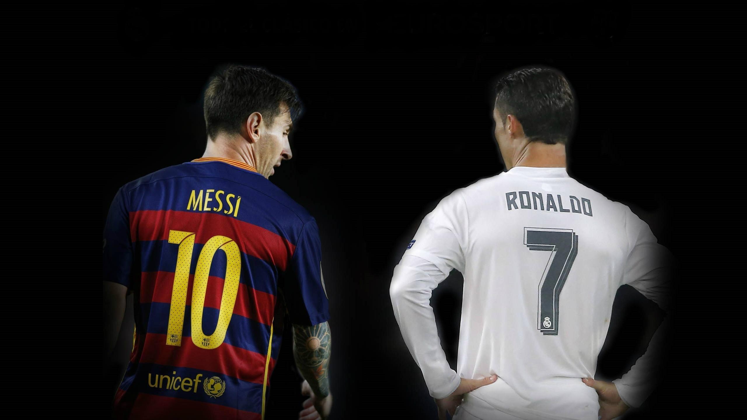 Ronaldos gest en passning till messi
