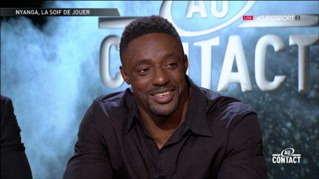 """Nyanga: """"Si l'on veut passer dans la même dimension que le Stade, il nous faut gagner des titres"""""""