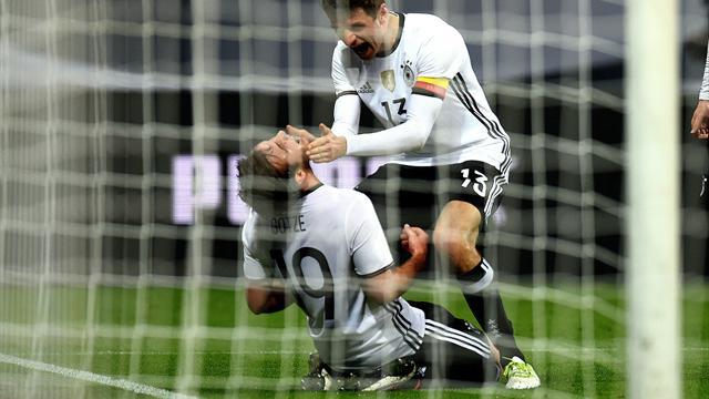 L'Allemagne étrille l'Italie et se rassure