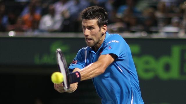Djokovic en patron s'offre un Thiem pas assez réaliste