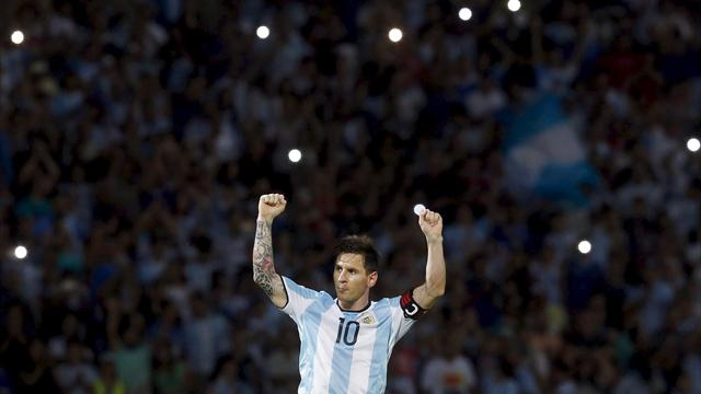 Messi scores 50th Argentina goal in 2-0 win over Bolivia