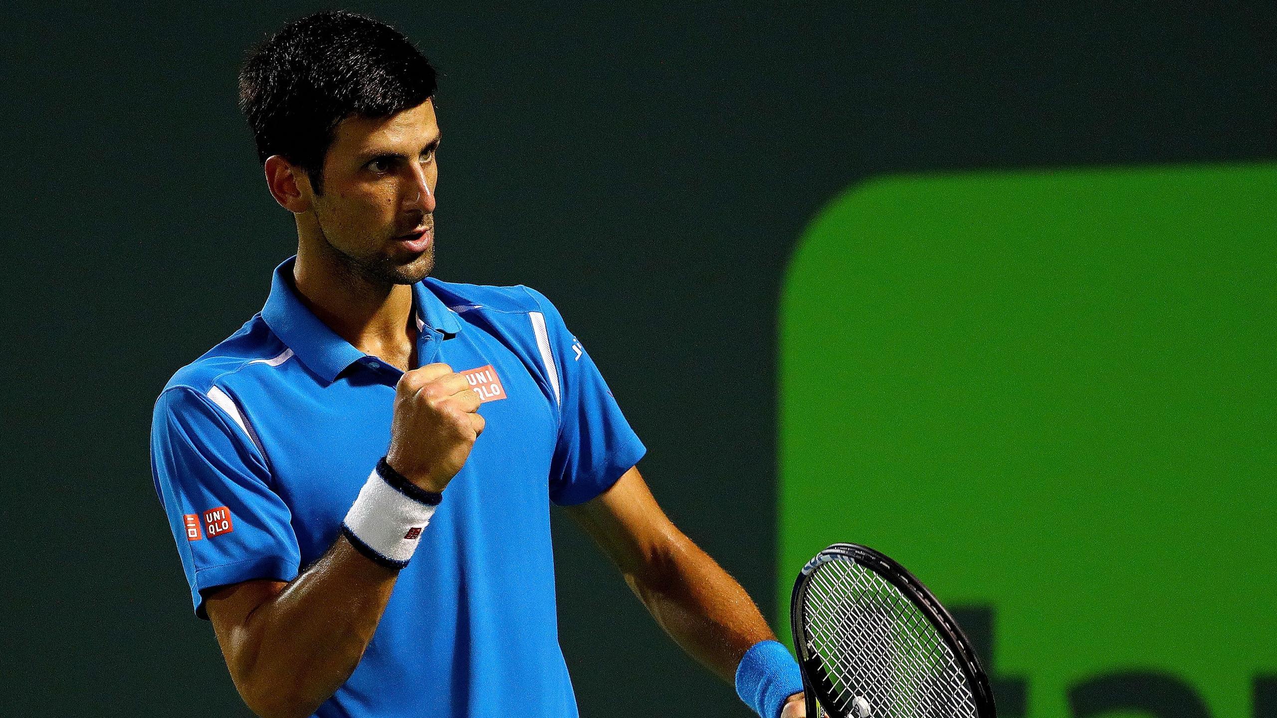 Novak Djokovic au Masters 1000 de Miami 2016