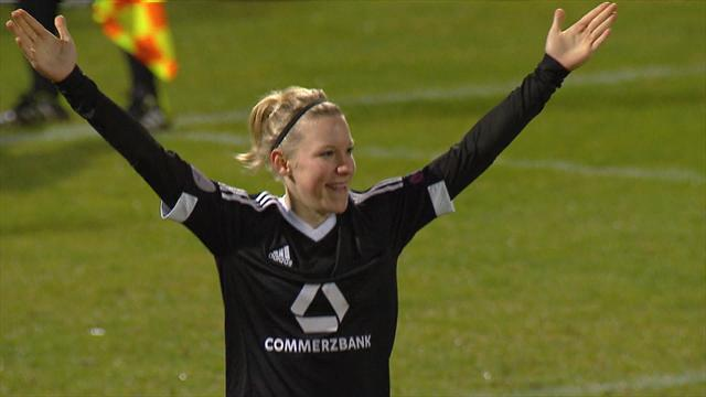 Highlights: Frankfurt beat Rosengard on penalties