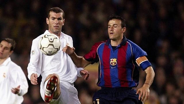 Luis Enrique vs. Zidane: Preciosa batalla en los banquillos