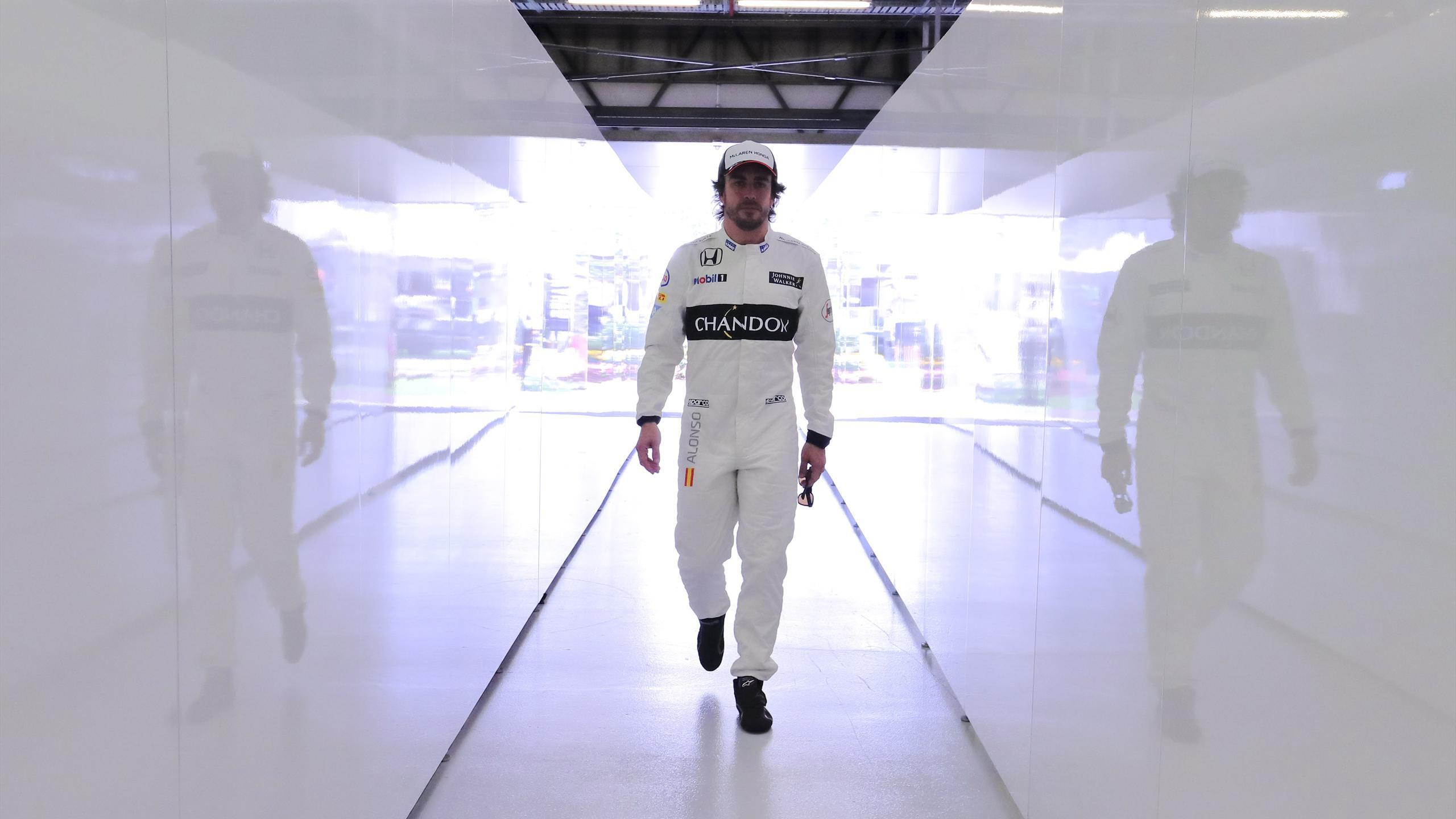 Fernando Alonso (McLaren) au Grand Prix d'Australie 2016