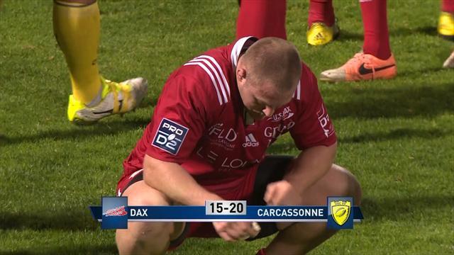 Le résumé de Dax – Carcassonne en vidéo