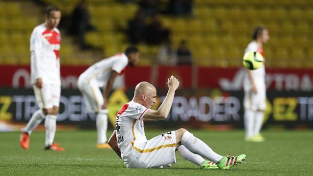 L'antisèche : A force de gâcher à domicile, Monaco est en train de se tirer une balle dans le pied