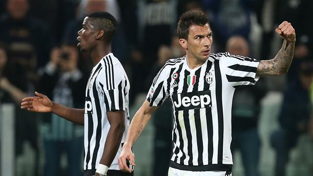 Pogba à la passe et Mandzukic à la finition : la Juventus continue sa route vers le titre