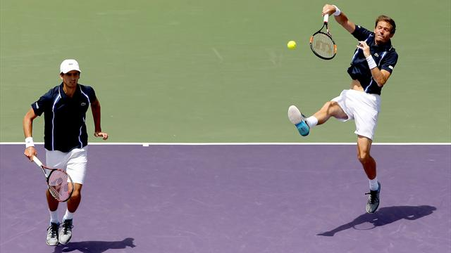 Tennis : Mahut - Herbert r�ussissent le doubl� Indian Wells-Miami !